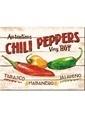 Nostalgic Art Chili Peppers Magnet 6x8 cm Renkli